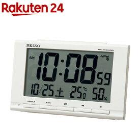 セイコー 電波目覚し時計 SQ789W(1個)【セイコー】