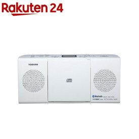 東芝 BLuetooth対応CDラジオ TY-CW26 W(1台)