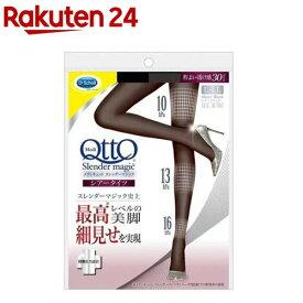 メディキュット スレンダーマジック シアータイツ ブラック L-LL 着圧ストッキング(1足)【3brnd-1all】【zaiko_01】【メディキュット(QttO)】