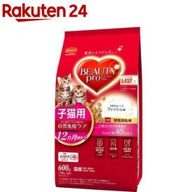ビューティープロ キャット 子猫用 12ヵ月頃まで(600g)【ビューティープロ】[キャットフード]