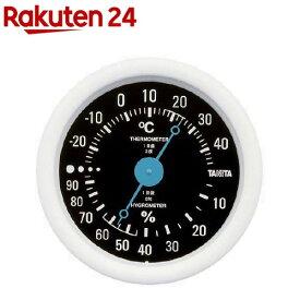 タニタ 温湿度計 ブラック TT-515-BK(1台)【タニタ(TANITA)】