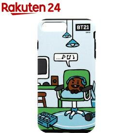 iPhone 8Plus/7Plus デュアルガード ルーミーズ SHOOKY KCB-DRP006(1個)【BT21】
