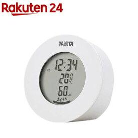 タニタ デジタル温湿度計 ホワイト TT-585-WH(1個)【タニタ(TANITA)】