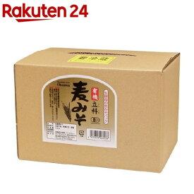 オーサワ 有機立科麦みそ (箱入り)(3.6kg)【オーサワ】