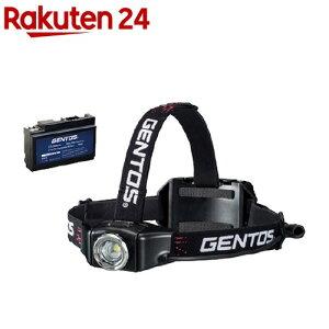 ジェントス Gシリーズ充電ヘッドライト+専用充電池セット GNS07544(1セット)【ジェントス】