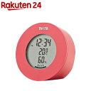 タニタ デジタル温湿度計 ピンク TT-585-PK(1個)【タニタ(TANITA)】