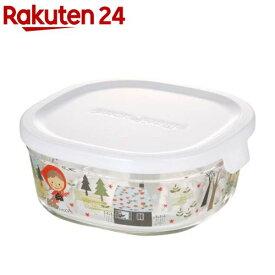 iwaki パック & レンジ (シンジカトウ /precious red hood) 450ml B3240-SNA(1コ入)