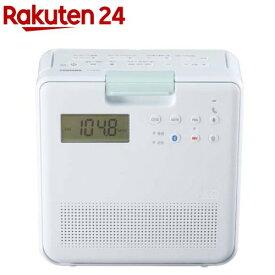 東芝 コンパクト防水SD・CDラジオ TY-CB100 W(1台)【東芝(TOSHIBA)】