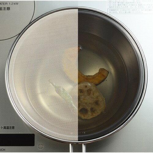 レイエメッシュ蓋で油ハネを防ぐオイルパンLS1555