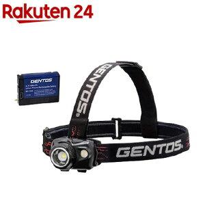 ジェントス ハイブリットヘッドライト+専用充電池セット GNS07551(1セット)【ジェントス】