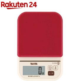タニタ デジタルクッキングスケール レッド KJ-210M-RD(1コ入)【タニタ(TANITA)】