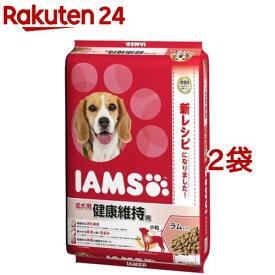 アイムス 成犬用 健康維持用 ラム&ライス 小粒(12kg*2コセット)【dqa】【アイムス】[ドッグフード]