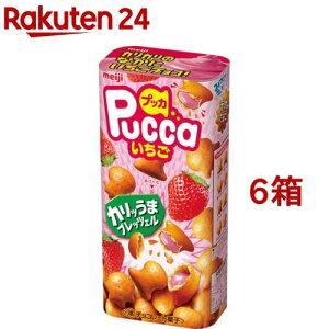 明治 プッカ いちご(39g*6箱セット)[チョコレート]