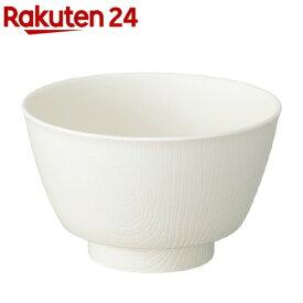 木目 持ちやすい茶碗 クリーム NBLS1(1個)