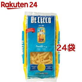 ディチェコ No.34 フスィリ(500g*24袋セット)【ディチェコ(DE CECCO)】