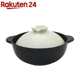 宴 ふきこぼれにくい土鍋 6号 1人用 約19.5cm(1コ入)