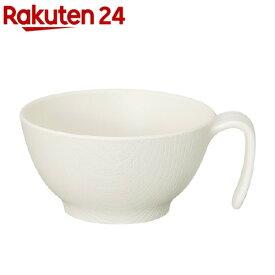 木目持ちやすい汁碗ハンドル クリーム NBLS2H(1個)