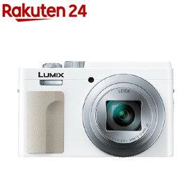 パナソニック コンパクト デジタルカメラ LUMIX DC-TZ95-W ホワイト(1台)【パナソニック】