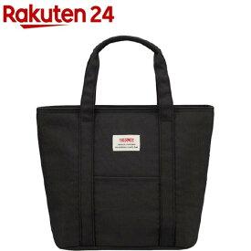 サーモス 保冷ランチバッグ ブラック REW-007 BK(1個)【サーモス(THERMOS)】