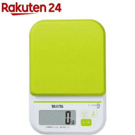 タニタ デジタルクッキングスケール グリーン KJ-210M(1台)【newlife-1】【タニタ(TANITA)】