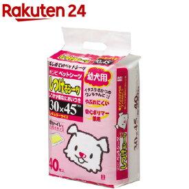 ボンビアルコン しつけるシーツ 幼犬用(40枚入)【2sh24】【しつけるシーツ】