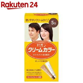 パオンクリームカラー 5G(1セット)【パオン】[白髪染め]