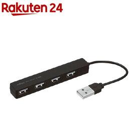 ナカバヤシ 4ポートUSB2.0ハブ UHー2354BK(1コ入)