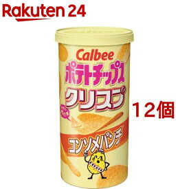 カルビー ポテトチップス クリスプ コンソメパンチ(50g*12コ)【カルビー ポテトチップス】