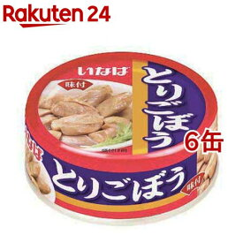 いなば とりごぼう(75g*6缶セット)