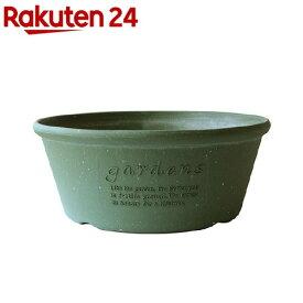 植木鉢 パピエ エコプランター浅型 360 GR(1コ入)