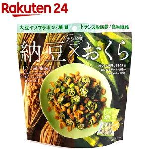 大豆習慣 納豆*おくら だし醤油味(6袋入)