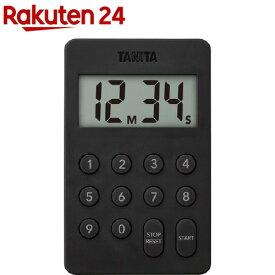 タニタ デジタルタイマー ブラック テンキー操作音無音 ブラック TD-415-BK(1個)【タニタ(TANITA)】