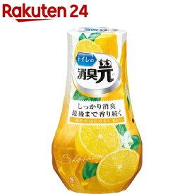 トイレの消臭元 爽やかはじけるレモン 芳香消臭剤 トイレ用(400ml)【消臭元】