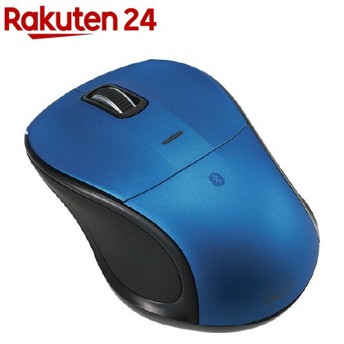 BLuetooth静音3ボタンブルーLEDマウス ブルー MUS-BKT111BL(1コ入)【送料無料】