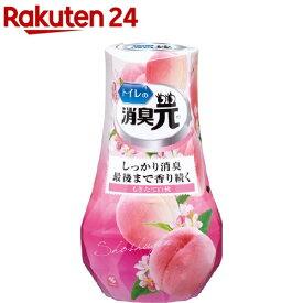 トイレの消臭元 もぎたて白桃 芳香消臭剤 トイレ用(400ml)【消臭元】