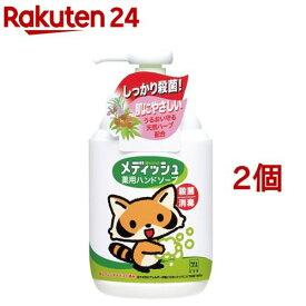 牛乳石鹸 メディッシュ 薬用ハンドソープ ポンプ付(250ml*2コセット)【メディッシュ】