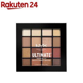 UT シャドウ パレット 03 カラー・ウォーム ニュートラル(1個)【rnyx01】【NYX Professional Makeup】[ニックス プロフェッショナル メイクアップ]