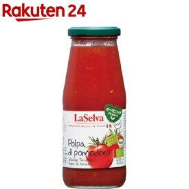 ラセルバ オーガニックざく切りトマト(425g)【org_7_more】【ラセルバ】[缶詰]