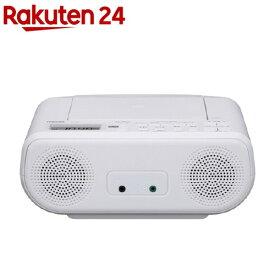 東芝 CDラジオ ホワイト TY-C160 W(1台)【東芝(TOSHIBA)】
