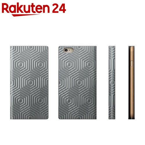 エスエルジーデザインiPhone6D4メタルダイアリーシルバーSD4265i6