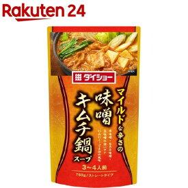 ダイショー 味噌キムチ鍋スープ(750g)