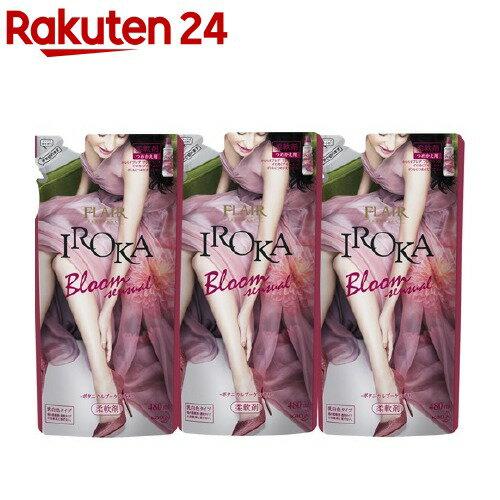 フレアフレグランス IROKA Bloom ボタニカルブーケの香り つめかえ用(480mL*3コセット)【フレア フレグランス】