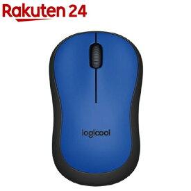 ロジクール 静音マウス M221 M221BL(1コ入)