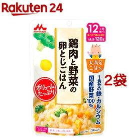 大満足ごはん 鶏肉と野菜の卵とじごはん G18(120g*2袋セット)【大満足ごはん】