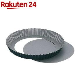 ブラックフィギュア 底とれ式タルト焼型 18cm D-067(1コ入)【ブラックフィギュア】