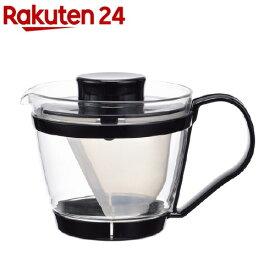 イワキ(iwaki) レンジのポット・茶器 ブラック K863-BK(1コ入)【イワキ(iwaki)】