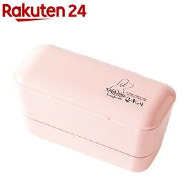 弁当箱 Roof レディースランチ2段 バニー ピンク T-96468(1個)