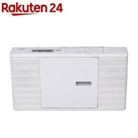 東芝 CDラジオ ホワイト TY-C260 W(1台)【東芝(TOSHIBA)】