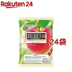 蒟蒻畑 りんご味(25g*12コ入*24袋セット)【蒟蒻畑】
