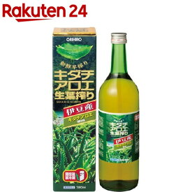 キダチアロエ生葉搾り(720ml)【オリヒロ(サプリメント)】